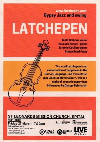 Latchepen at Spital Arts