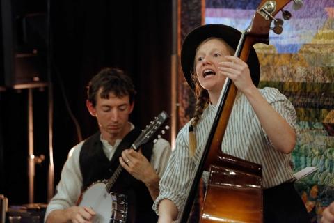 Saturday 16th November - Mountain Music by Little Bulb Theatre - Crich Glebe Field Centre