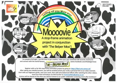 Moooovie - a stop frame animation project by Fleet Arts, Belper