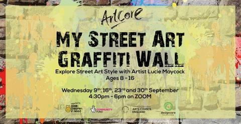 My Street Art Grafitti Wall