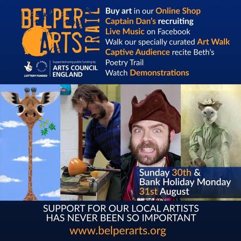 BELPER ARTS TRAIL ONLINE