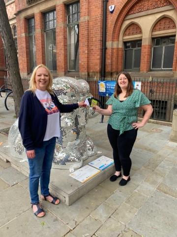 Derby BIDs Present Ram Trail Prize Draw Vouchers