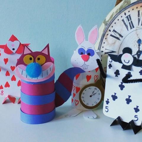 Alice in Wonderland Children's Craft Workshop at Cromford Mills this Easter!