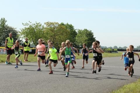 Local Riders Triumph in Midlands Junior Duathlon