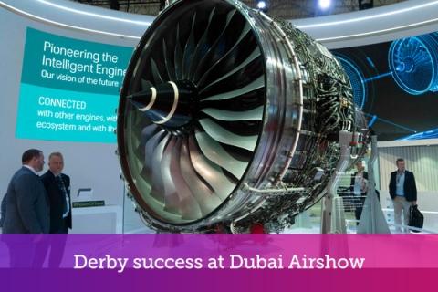 Derby success at Dubai Airshow