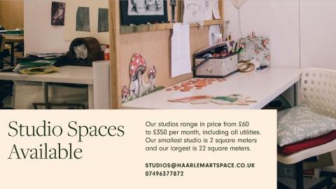 New Studio Spaces - Haarlem Artspace