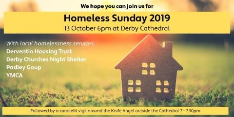 Homeless Sunday 13th October 2019