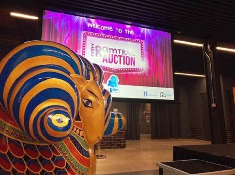 Derby Ram Trail Auction raises over £300,000!