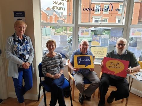 Derbyshire Peak Oddfellows - Members enjoying Friendship Month