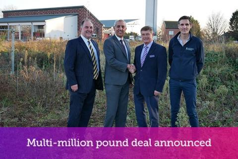 Multi-million pound deal announced