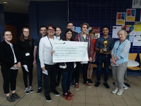 Derby College Rag Week Total Announced