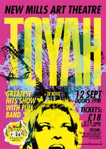 Toyah to Visit New Mills Festival in September!