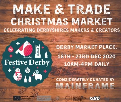 White Peak Distillery Pop Up in Derby Market Place, 21-23 December