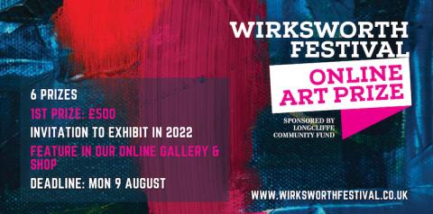 Wirksworth Festival Launch Online Art Prize